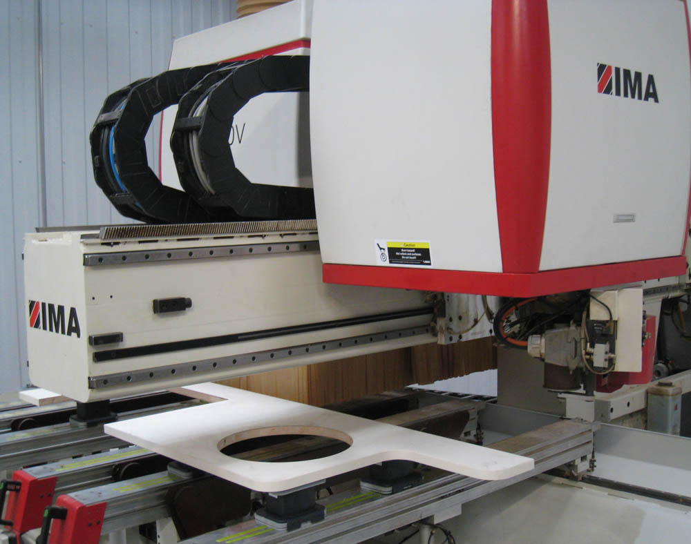 Panel Cutting and Shaped Edgebanding Centre